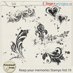 Keep your memories Stamps Vol.10