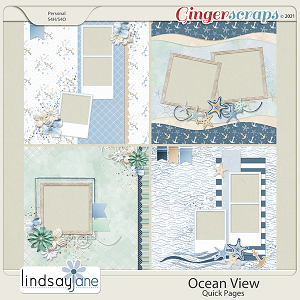 Ocean View Quick Pages by Lindsay Jane