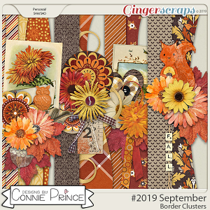 #2019 September - Border Clusters by Connie Prince