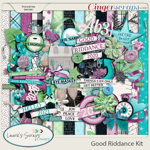 Good Riddance Page Kit