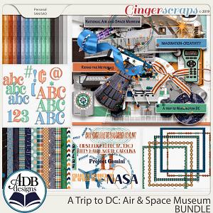A Trip to DC - Air & Space Museum Bundle by ADB Designs