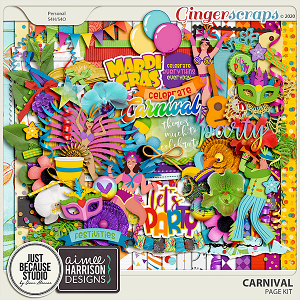 Carnival Page Kit by JB Studio and Aimee Harrison Designs
