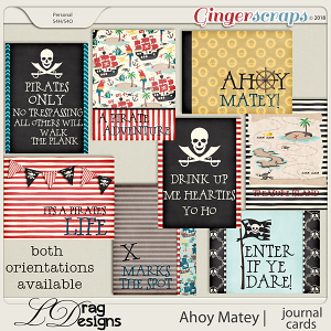 Ahoy Matey: Journal Cards by LDragDesigns