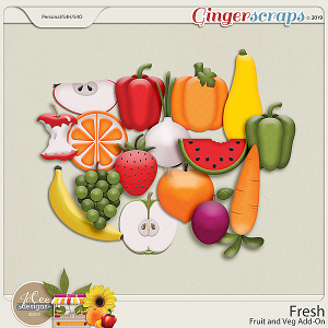 Fresh Fruit and Veg Add-On by JoCee Designs