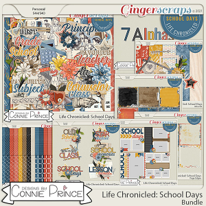 Life Chronicled: School Days - Bundle by Connie Prince