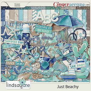 Just Beachy by Lindsay Jane