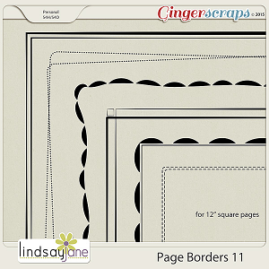 Page Borders 11 by Lindsay Jane
