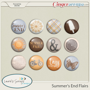 Summer's End Flairs