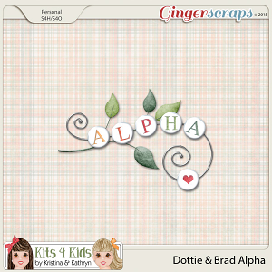 Dottie & Brad Alphabets by K4K