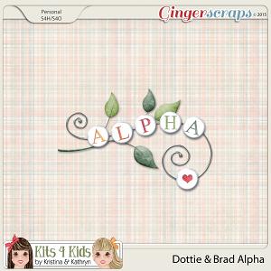 Dottie & Brad Alphabets by K4K