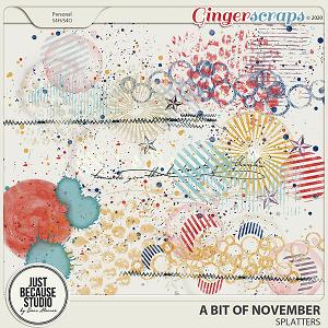 A Bit Of November Splatters by JB Studio