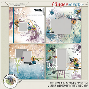 Special Moments- VOL.14 - Templates - by Neia Scraps