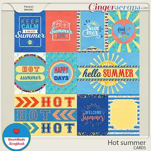 Hot summer - cards