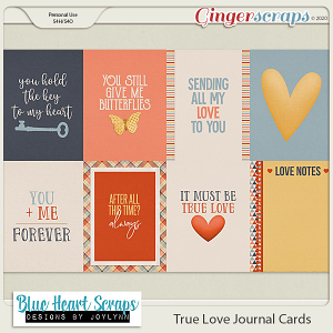 True Love Journal Card Pack