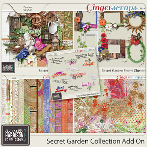 Secret Garden Add-On Collection by Aimee Harrison