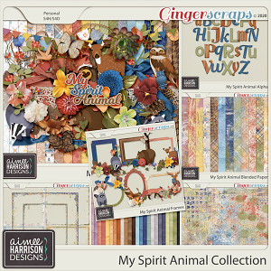 My Spirit Animal Collection by Aimee Harrison