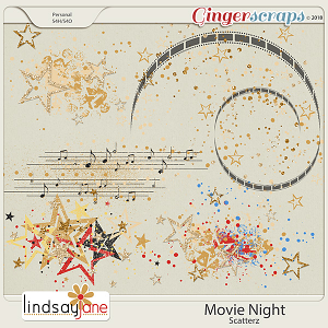 Movie Night Scatterz by Lindsay Jane