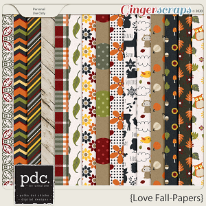 Love Fall (Patterned Papers)