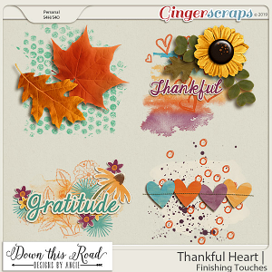Thankful Heart | Finishing Touches
