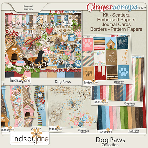 Dog Paws Collection by Lindsay Jane