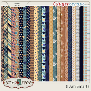 I Am Smart Papers by Scraps N Pieces