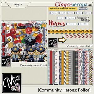 Community Heroes - Police by Memory Mosaic