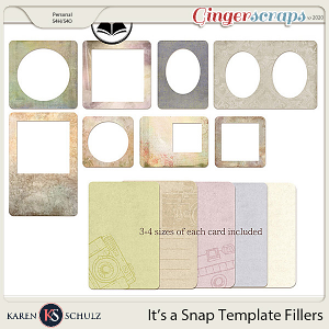 Its a Snap Template Fillers by Snickerdoodle Designs and ADB Designs
