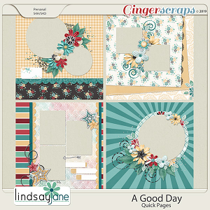 A Good Day Quick Pages by Lindsay Jane