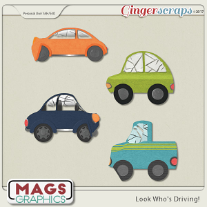 Look Who's Driving CRASHED CARS by MagsGraphics