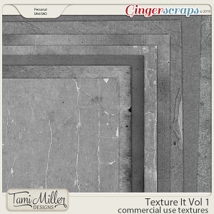 Texture It Vol 1 by Tami Miller Designs