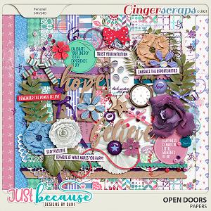Open Doors Page Kit by JB Studio