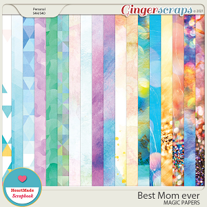 Best Mom ever - magic papers