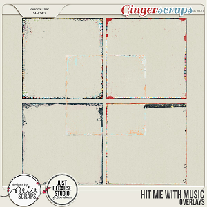 Hit Me with Music - Overlays - by Neia Scraps & JB Studio