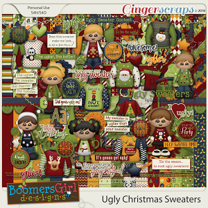 Ugly Christmas Sweaters by BoomersGirl Designs