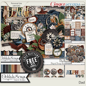 Dad Digital Scrapbook Bundle