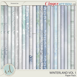 Winterland Paper Pack Vol 1 by Ilonka's Designs