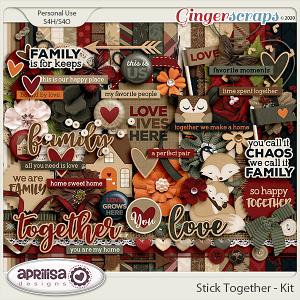 Stick Together - Kit by Aprilisa Designs