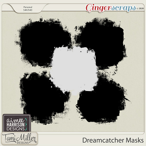 Dreamcatcher Masks by Aimee Harrison and Tami Miller