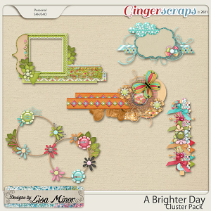 A Brighter Day Cluster Pack from Designs by Lisa Minor