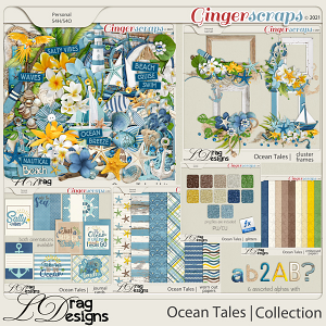 Ocean Tales: The Collection by LDragDesigns