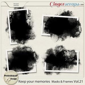 Keep your memories Masks&Frames Vol.22