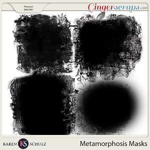 Metamorphosis Masks by Karen Schulz