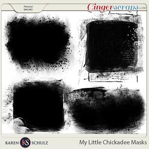 My Little Chickadee Masks by Karen Schulz