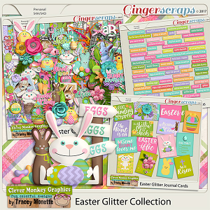 Easter Glitter Bundle by Clever Monkey Graphics