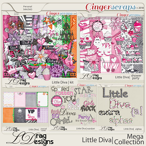 Little Diva: Mega Collection by LDragDesigns
