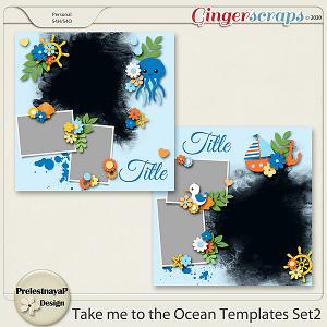 Take me to the Ocean Templates Set2