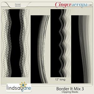 Border It Mix 3 by Lindsay Jane
