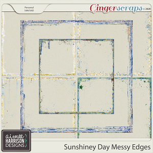 Sunshiney Day Messy Edges by Aimee Harrison