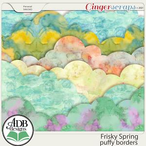 Frisky Spring Puffy Borders by ADB Designs