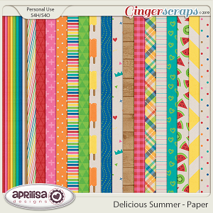 Delicious Summer - Papers by Aprilisa Designs